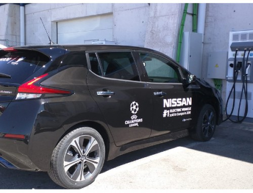 Efacec chargers for electric vehicles support UEFA Champions League final in Madrid